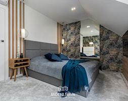 MOTHI.FORM ⋅ INSPIRUJĄCY DOM ⋅ BIBICE - Sypialnia, styl nowoczesny - zdjęcie od MOTHI.form - Homebook