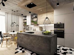 Kuchnia z aneksem jadalnianym - zdjęcie od MOTHI.form