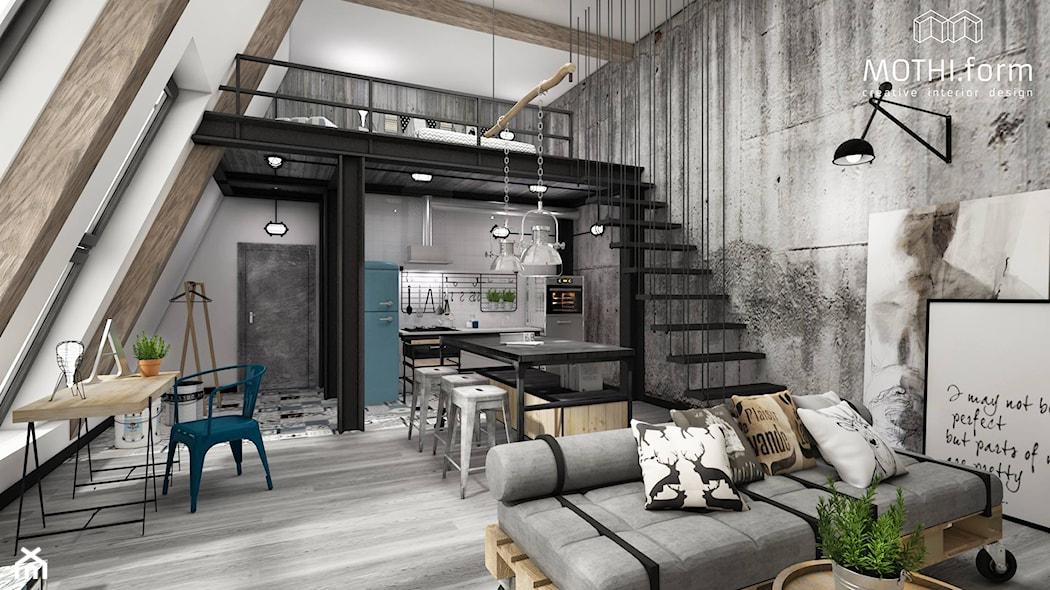 Mieszkanie w starej fabryce czyli jak urz dzi loft for W loft