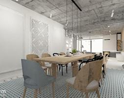 Salon z jadalnią - zdjęcie od MOTHI.form