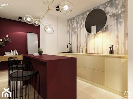 Aranżacje wnętrz - Kuchnia: kuchnia z korytarzem - MOTHI.form. Przeglądaj, dodawaj i zapisuj najlepsze zdjęcia, pomysły i inspiracje designerskie. W bazie mamy już prawie milion fotografii!