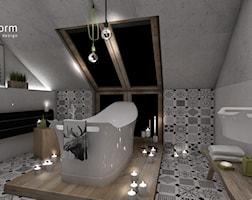 łazienka skandynawska - zdjęcie od MOTHI.form