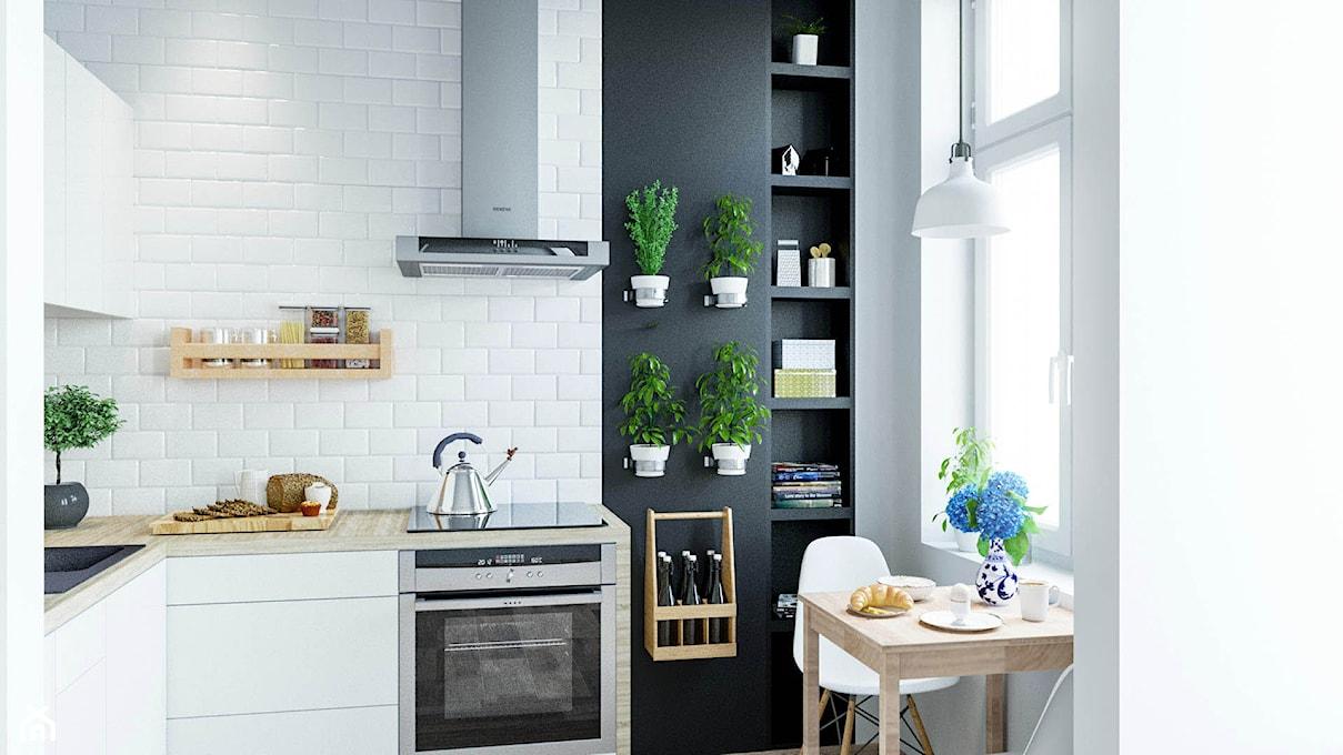 Jak urządzić małą kuchnię w bloku? Zobacz sprytne   -> Kuchnia Prowansalska Wroclaw