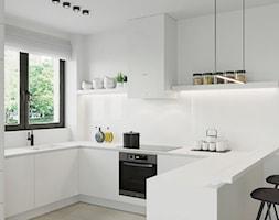 Projekt wnętrza domu w Leśnicy - Kuchnia - zdjęcie od Houselab - Projektowanie Wnętrz Wrocław / Warszawa