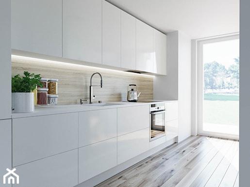 Białe kuchnie zawsze na czasie Przegląd inspiracji i   -> Kuchnia Lakierowana Czy Matowa