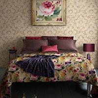 tapety w sypialni inspiracje - anna tro