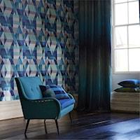 Modny trend – tapety w geometryczne wzory., Dekoracja ścian, Trendy