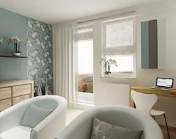 Wielki Błękit ponad horyzontem - Salon, styl minimalistyczny - zdjęcie od 3Deko Wnętrza - Homebook