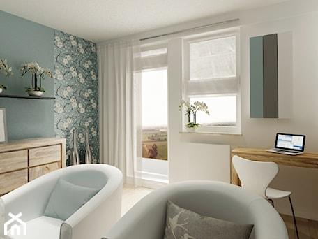 Aranżacje wnętrz - Salon: Wielki Błękit ponad horyzontem - Salon, styl minimalistyczny - 3Deko Wnętrza. Przeglądaj, dodawaj i zapisuj najlepsze zdjęcia, pomysły i inspiracje designerskie. W bazie mamy już prawie milion fotografii!