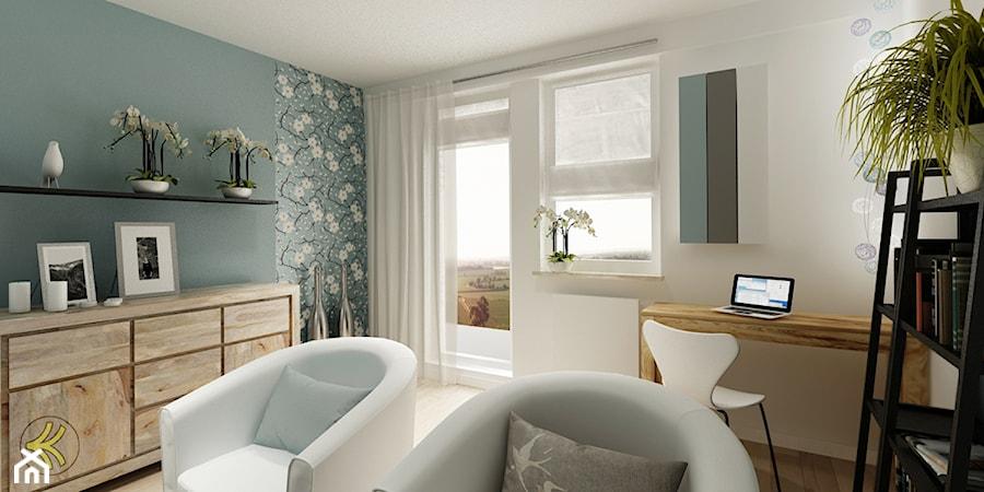 Wielki Błękit ponad horyzontem - Salon, styl minimalistyczny - zdjęcie od 3Deko Wnętrza