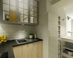 Mieszkanie na wynajem - Kuchnia, styl industrialny - zdjęcie od 3Deko Wnętrza - Homebook