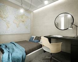 Mieszkanie na wynajem - Sypialnia, styl skandynawski - zdjęcie od 3Deko Wnętrza - Homebook