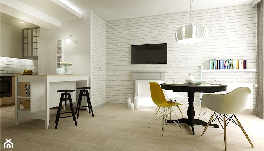 Mieszkanie na wynajem - Salon, styl industrialny - zdjęcie od 3Deko Wnętrza