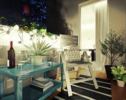 Mieszkanie na wynajem - Taras, styl nowoczesny - zdjęcie od 3Deko Wnętrza - Homebook