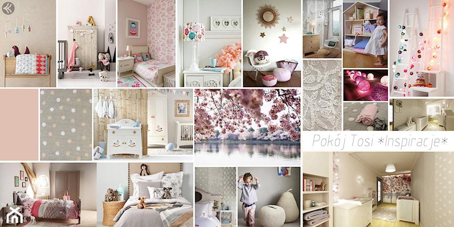 Pokój Tosi - Pokój dziecka, styl nowoczesny - zdjęcie od 3Deko Wnętrza
