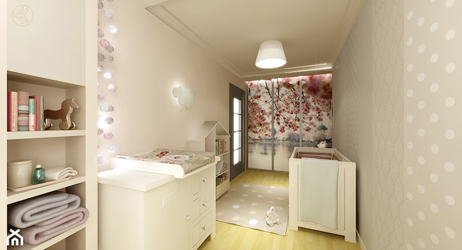 Aranżacje wnętrz - Pokój dziecka: Pokój Tosi - Średni beżowy pokój dziecka dla dziewczynki dla niemowlaka, styl nowoczesny - 3Deko Wnętrza. Przeglądaj, dodawaj i zapisuj najlepsze zdjęcia, pomysły i inspiracje designerskie. W bazie mamy już prawie milion fotografii!
