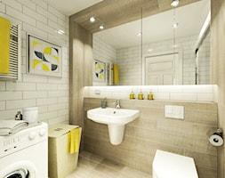 Mieszkanie na wynajem - Łazienka, styl skandynawski - zdjęcie od 3Deko Wnętrza - Homebook
