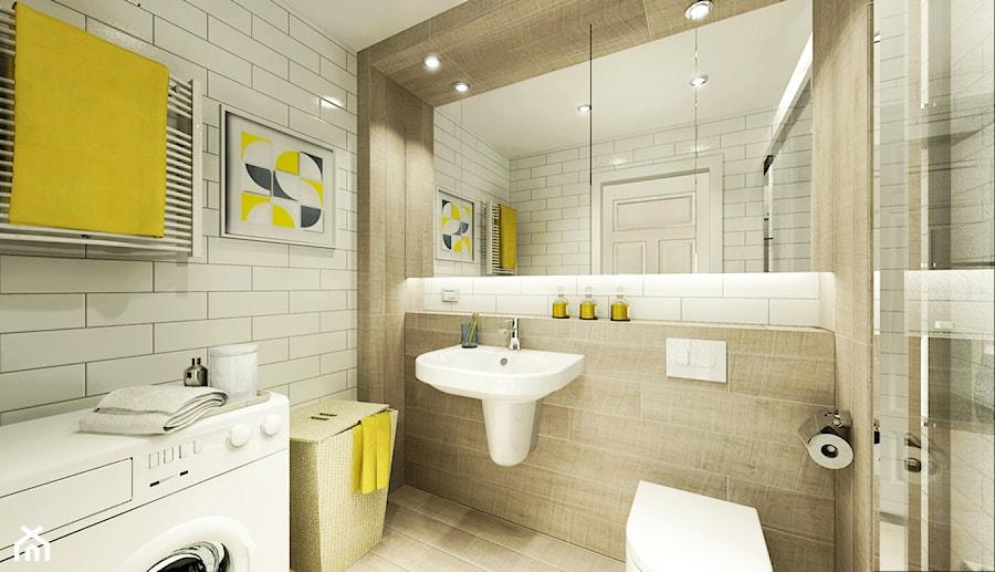Mieszkanie na wynajem - Łazienka, styl skandynawski - zdjęcie od 3Deko Wnętrza