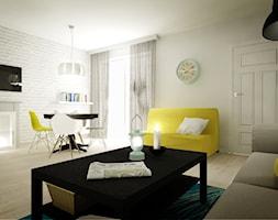 Mieszkanie na wynajem - Salon, styl industrialny - zdjęcie od 3Deko Wnętrza - Homebook