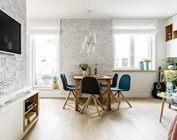 family spot - Salon, styl skandynawski - zdjęcie od SAJE ARCHITEKCI Joanna Morkowska-Saj