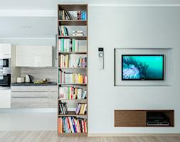 morska bryza - Salon, styl nowoczesny - zdjęcie od SAJE ARCHITEKCI Joanna Morkowska-Saj - Homebook
