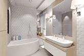 Łazienka dla dwojga - zdjęcie od Agata Hann Architektura Wnętrz - Homebook