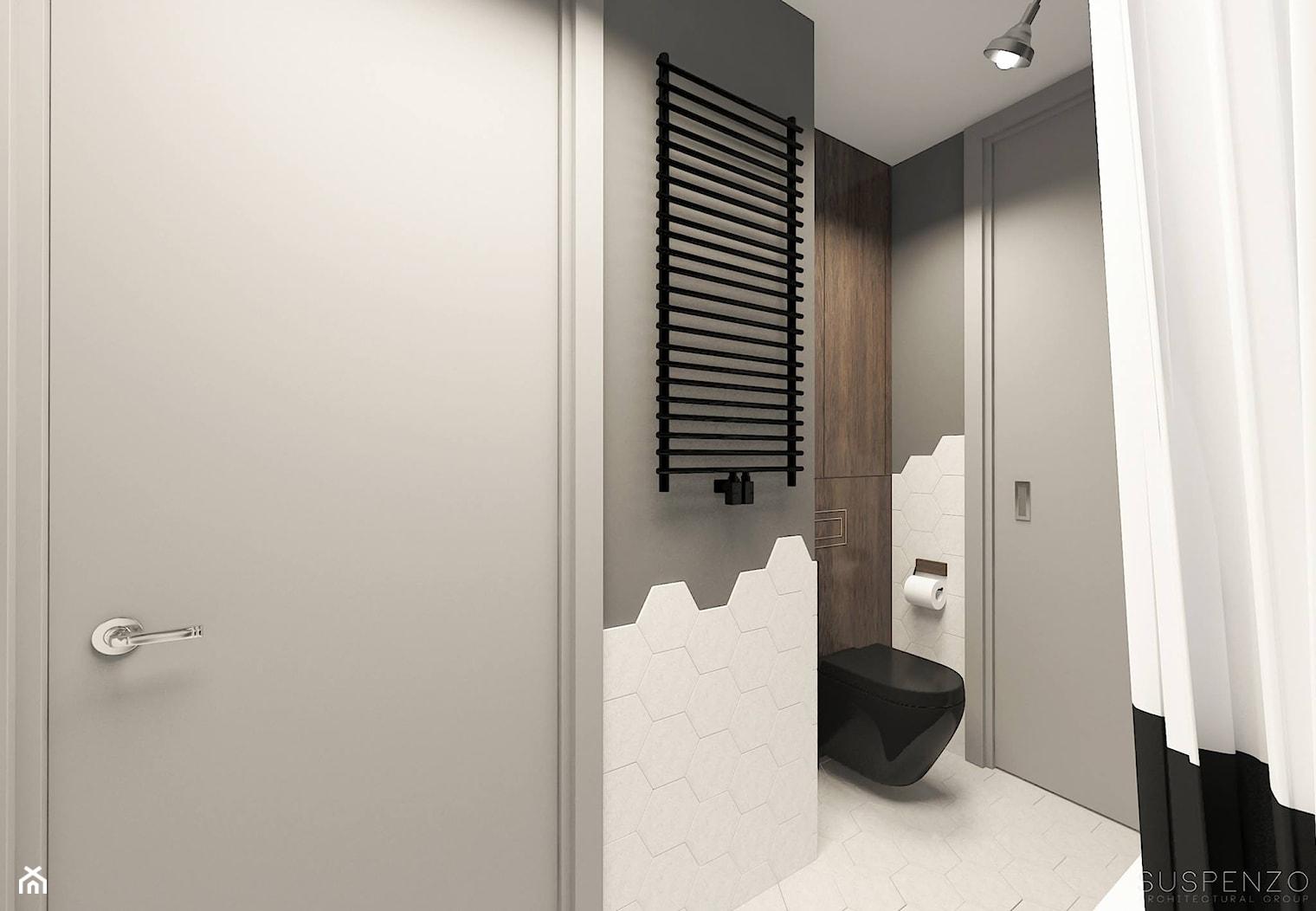 suspenzo_no.23 - Szara łazienka, styl industrialny - zdjęcie od suspenzo architectural group - Homebook