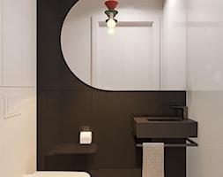 suspenzo_no.26 - Mała czarna łazienka, styl nowoczesny - zdjęcie od suspenzo architectural group - Homebook