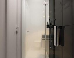 suspenzo_no.26 - Mała łazienka w bloku w domu jednorodzinnym bez okna, styl nowoczesny - zdjęcie od suspenzo architectural group - Homebook