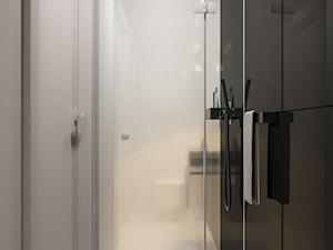 suspenzo_no.26 - Mała łazienka w bloku w domu jednorodzinnym bez okna, styl nowoczesny - zdjęcie od suspenzo architectural group