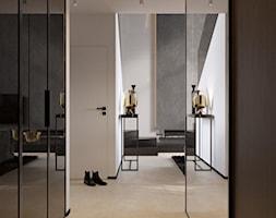 suspenzo_no.26 - Duży biały hol / przedpokój, styl nowoczesny - zdjęcie od suspenzo architectural group - Homebook