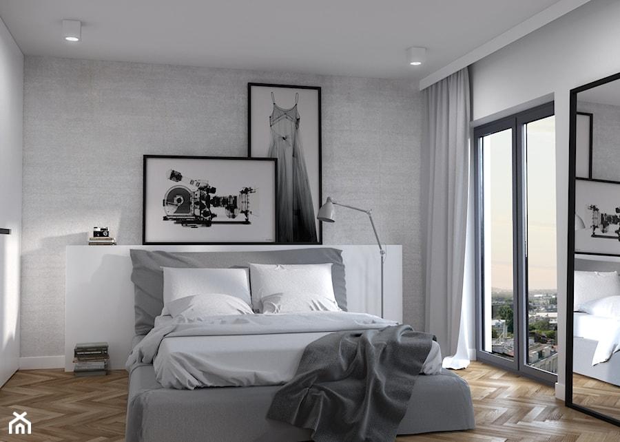 Sypialnia z du u017c u0105 zabudow u0105 szaf zdj u0119cie od Cloud Concept Studio homebook