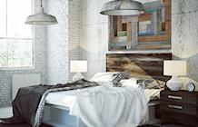 Dawnych podłóg czar - nowoczesny obraz na płótnie - zdjęcie od VAKU-DSGN