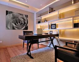 Elegancja róży - nowoczesny obraz na płótnie - zdjęcie od VAKU-DSGN