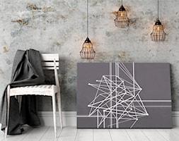 Trajektoria losu - nowoczesny obraz na płótnie - zdjęcie od VAKU-DSGN