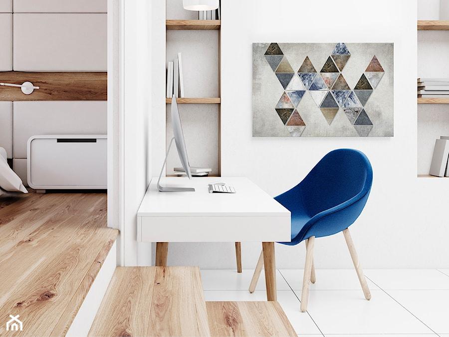 Aranżacje wnętrz - Biuro: Finezyjna forma - nowoczesny obraz na płótnie - VAKU-DSGN. Przeglądaj, dodawaj i zapisuj najlepsze zdjęcia, pomysły i inspiracje designerskie. W bazie mamy już prawie milion fotografii!