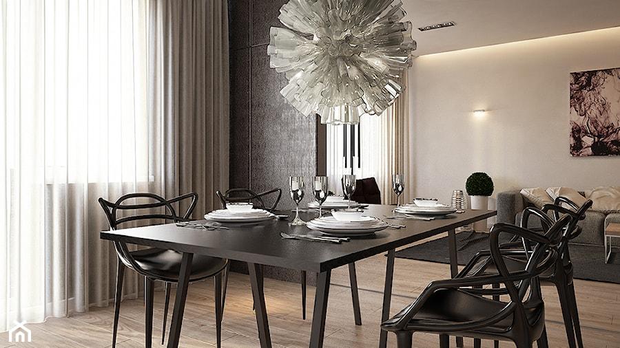 DEZIGN PROJECT MAŁEGO MIESZKANIA - Kuchnia, styl minimalistyczny - zdjęcie od Yevhen Zahorodnii