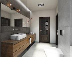metamorfoza łazienki - Mała średnia łazienka w bloku w domu jednorodzinnym, styl nowoczesny - zdjęcie od Pracownia Wielkie Rzeczy