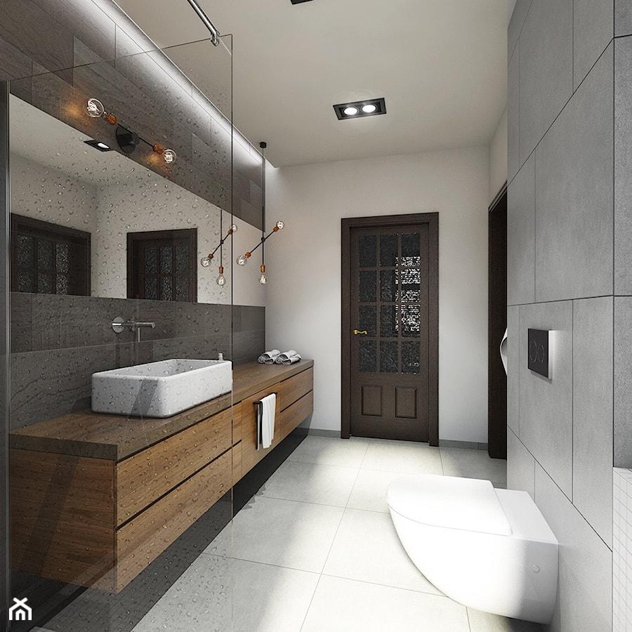 Aranżacje wnętrz - Łazienka: metamorfoza łazienki - Mała średnia szara łazienka w bloku w domu jednorodzinnym, styl nowoczesny - Pracownia Wielkie Rzeczy. Przeglądaj, dodawaj i zapisuj najlepsze zdjęcia, pomysły i inspiracje designerskie. W bazie mamy już prawie milion fotografii!