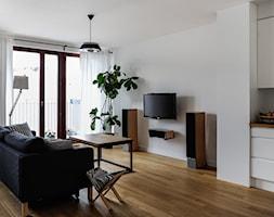 mieszkanie 80m2 - Salon, styl skandynawski - zdjęcie od Pracownia Wielkie Rzeczy - Homebook