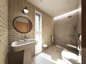 dom z elementami prowansalskimi - Średnia łazienka z oknem, styl prowansalski - zdjęcie od Pracownia Wielkie Rzeczy