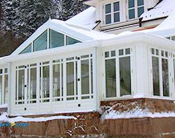 Ogród Zimowy Norwegia - Ogród w stylu skandynawskim, styl skandynawski - zdjęcie od Alpina Ogrody Zimowe & Szkło Architektoniczne - Homebook