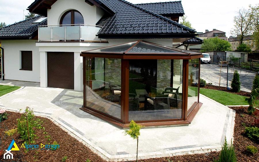 Modernistyczne Ogród przed domem - aranżacje, pomysły, inspiracje - homebook ON95