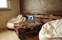 Sypialnia styl Industrialny - zdjęcie od Manufaktura Projektów