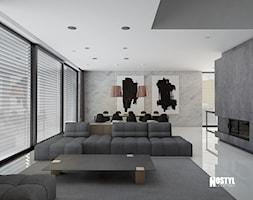 INTERIOR [ 01 ] 2019 - Salon, styl nowoczesny - zdjęcie od Manufaktura Projektów - Homebook
