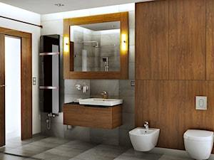 Drewno w łazienkach