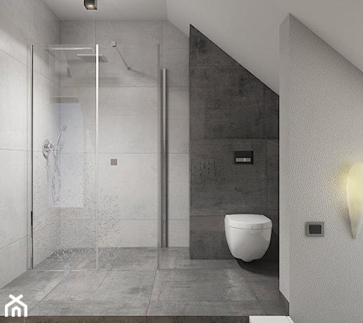 łazienka Na Poddaszu Z Prysznicem Pomysły Inspiracje Z Homebook