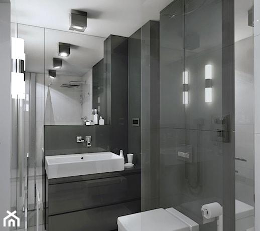 Mały Apartament łazienka Styl Nowoczesny Zdjęcie Od