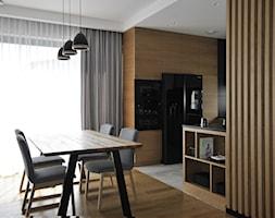 Projekt domu Łódź Kolumny - Jadalnia, styl skandynawski - zdjęcie od Piotr Stolarek PROJEKTOWANIE WNĘTRZ - Homebook
