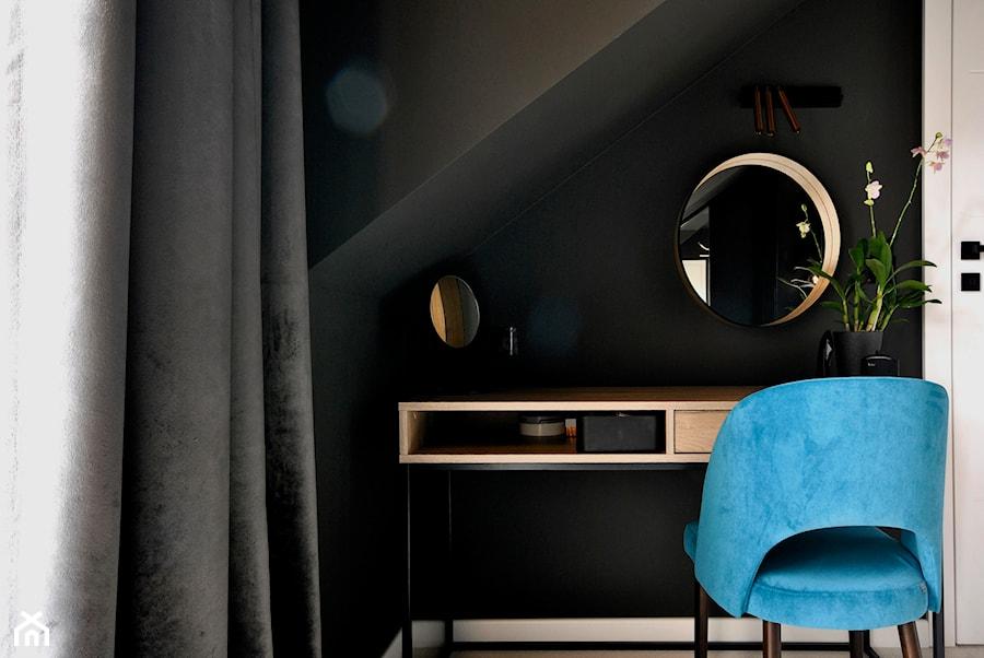 Dom w Józefowie - Sypialnia, styl nowoczesny - zdjęcie od Piotr Stolarek PROJEKTOWANIE WNĘTRZ